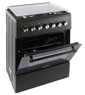 Carysil 4 burners stainless steel cooking range