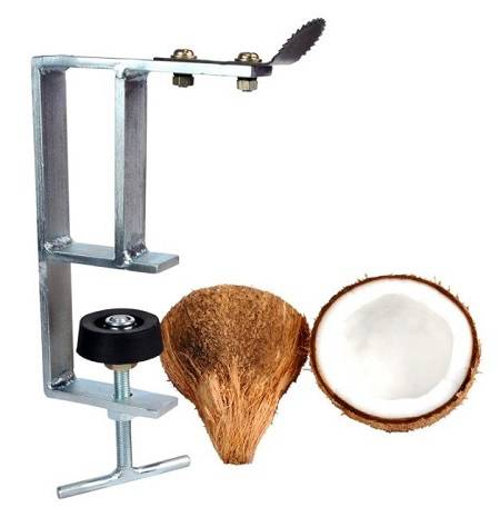 Table Mountable Coconut Scraper