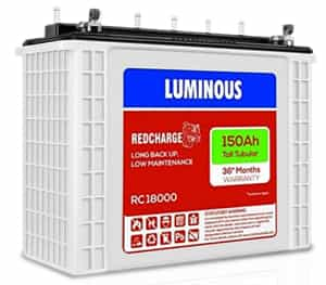Luminous Red Charge RC 18000 150Ah